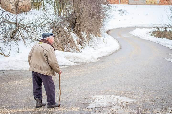 starac na putu