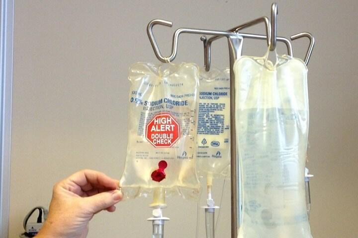 Infuizja za davanje bolesniku u bolnizi